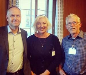 Jonas Sjöstedt, Carina Wellton, Göran Johansson