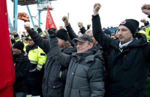 Strejk för kollektivavtal