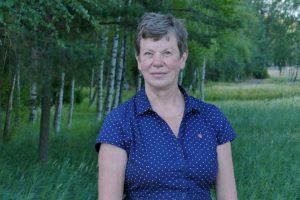 Åsa Bååth är en av fyra vänsterpartister i kommunfullmäktige i Haninge